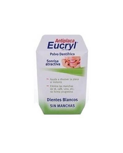 Eucryl - polvo dentífrico antiplaca - 60 g