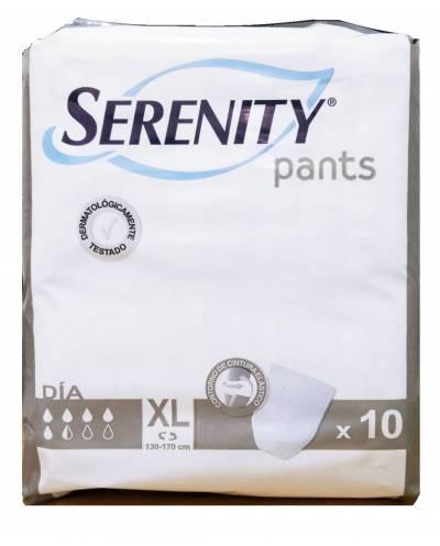 Pañal serenity pants día talla extra grande 80 unidades