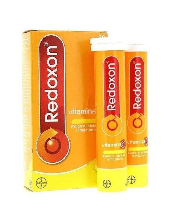 Redoxon 30 comprimidos efervescentes limón