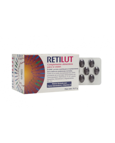 Retilut Con Trans-Resveratrol Y Vitamina D 60 Cápsulas