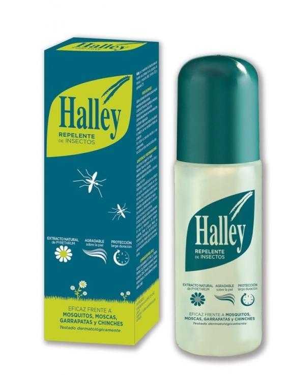 Halley Repelente De Insectos En Spray 150 Ml