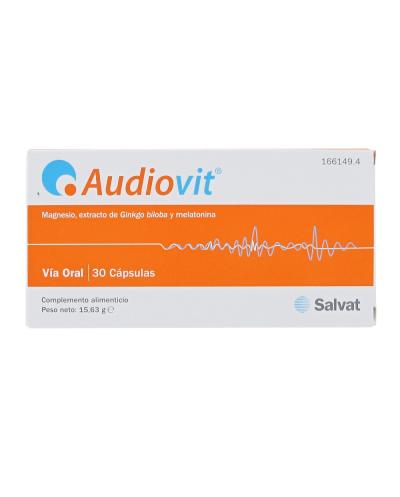 Audiovit - 30 cápsulas