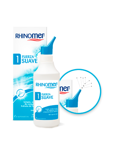 RHINOMER FUERZA 1 SUAVE 135 ML