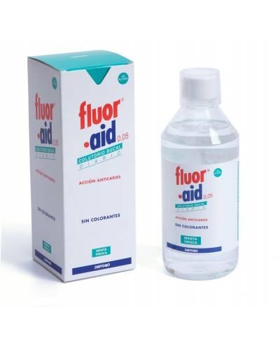 Fluor aid 0,05 colutorio 500 ml