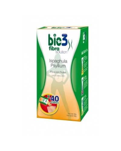 Bio3 fibra solution ispaghula psyllium 24 sticks