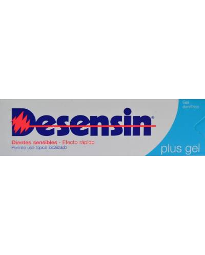 Desensin plus gel dentífrico 75 ml