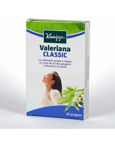 Valeriana classic - 60 grageas - kneipp